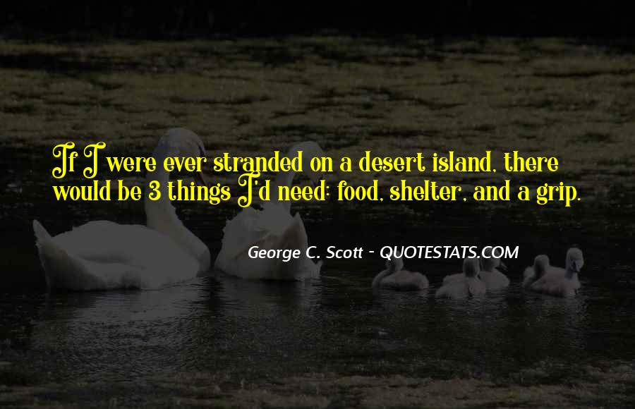 Stranded Island Quotes #1879149
