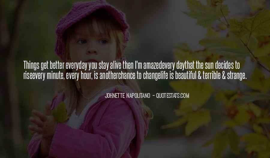 Strange But Beautiful Quotes #1045532