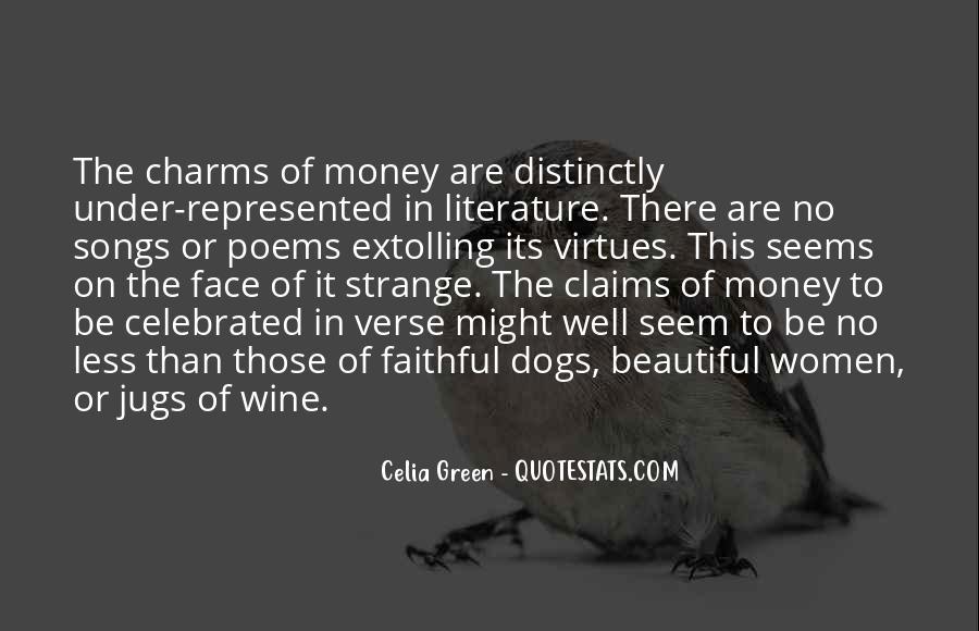 Strange But Beautiful Quotes #1072670