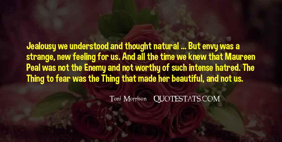 Strange But Beautiful Quotes #1075127