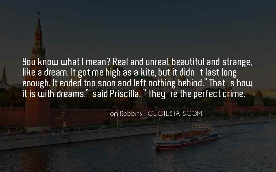 Strange But Beautiful Quotes #1119932
