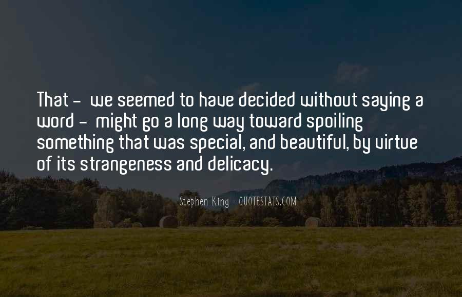 Strange But Beautiful Quotes #1126916