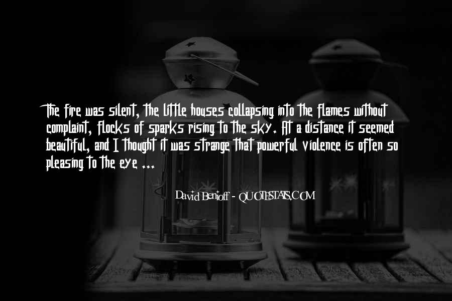 Strange But Beautiful Quotes #1248514
