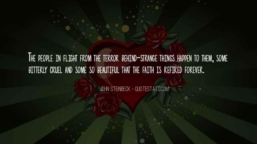 Strange But Beautiful Quotes #12750