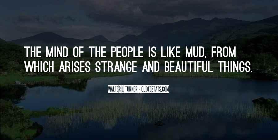 Strange But Beautiful Quotes #173262