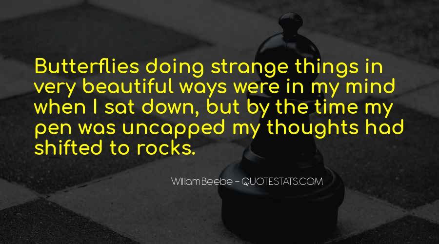 Strange But Beautiful Quotes #1792945