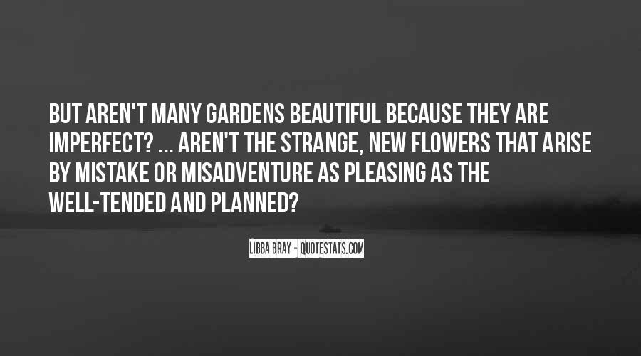 Strange But Beautiful Quotes #352602