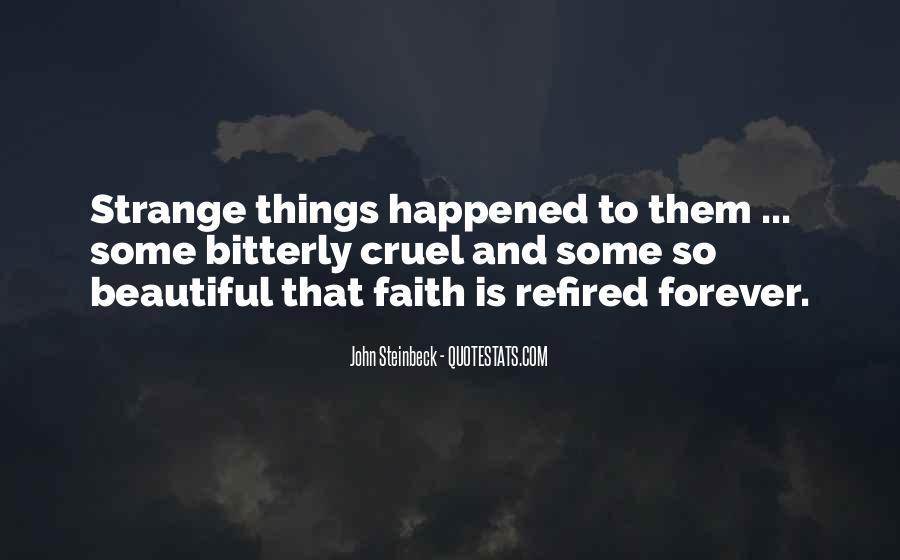 Strange But Beautiful Quotes #564700