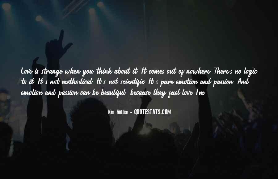 Strange But Beautiful Quotes #78720
