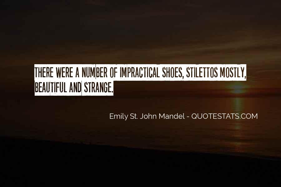 Strange But Beautiful Quotes #865614