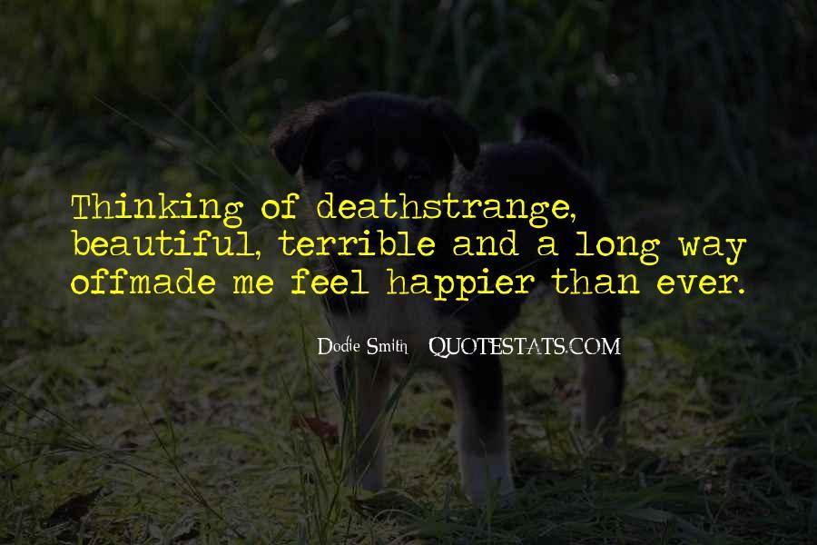 Strange But Beautiful Quotes #95931
