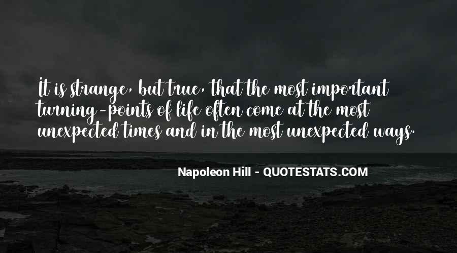 Strange But True Quotes #132524