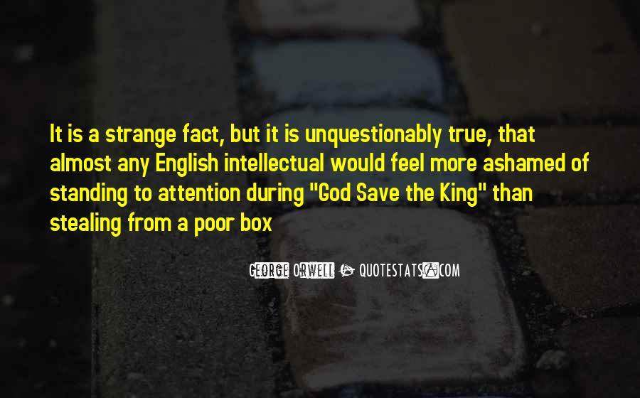 Strange But True Quotes #1756807