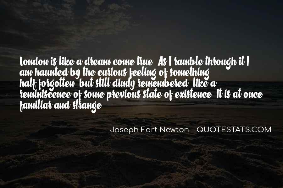 Strange But True Quotes #475910