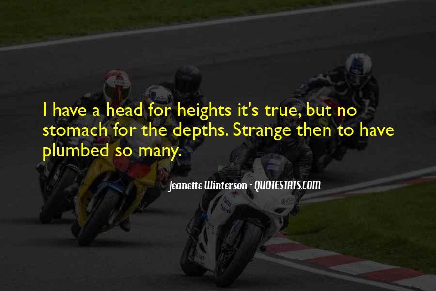 Strange But True Quotes #622065