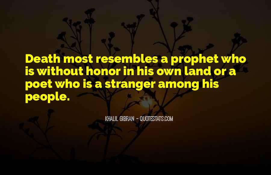 Stranger Among Us Quotes #1722409