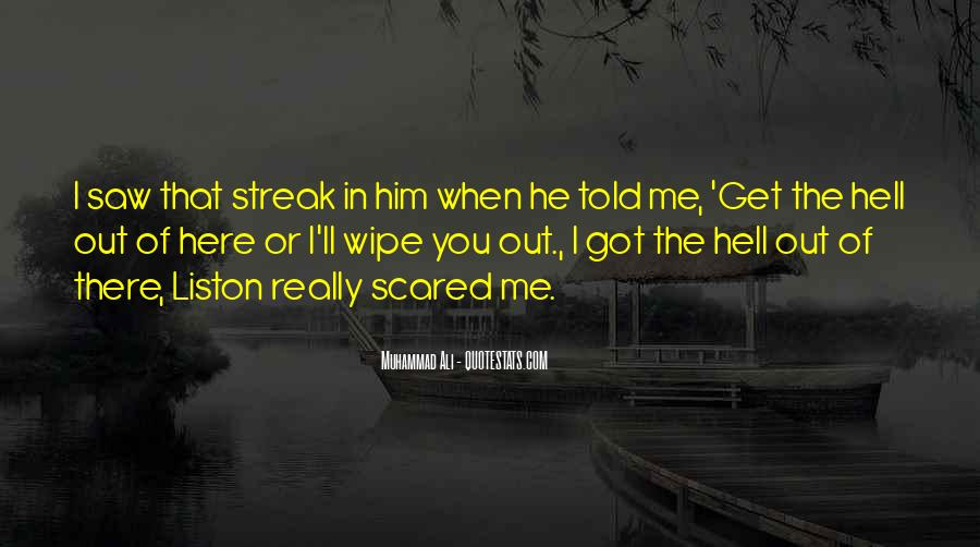 Streak Quotes #319262