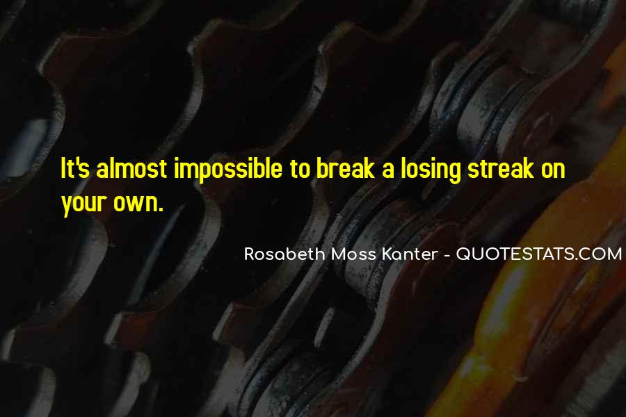 Streak Quotes #420512