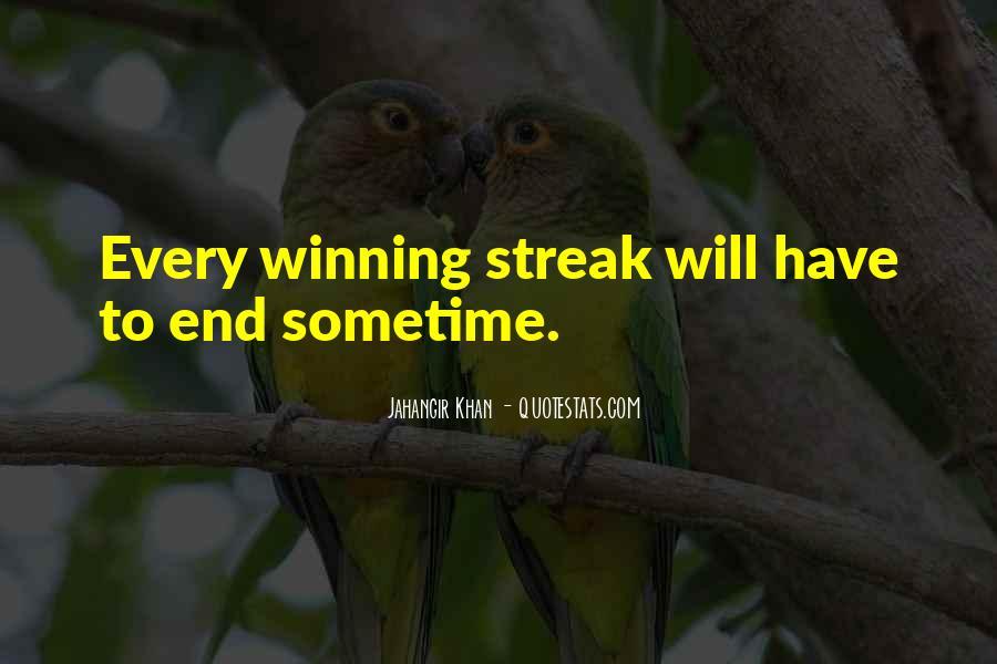 Streak Quotes #627594