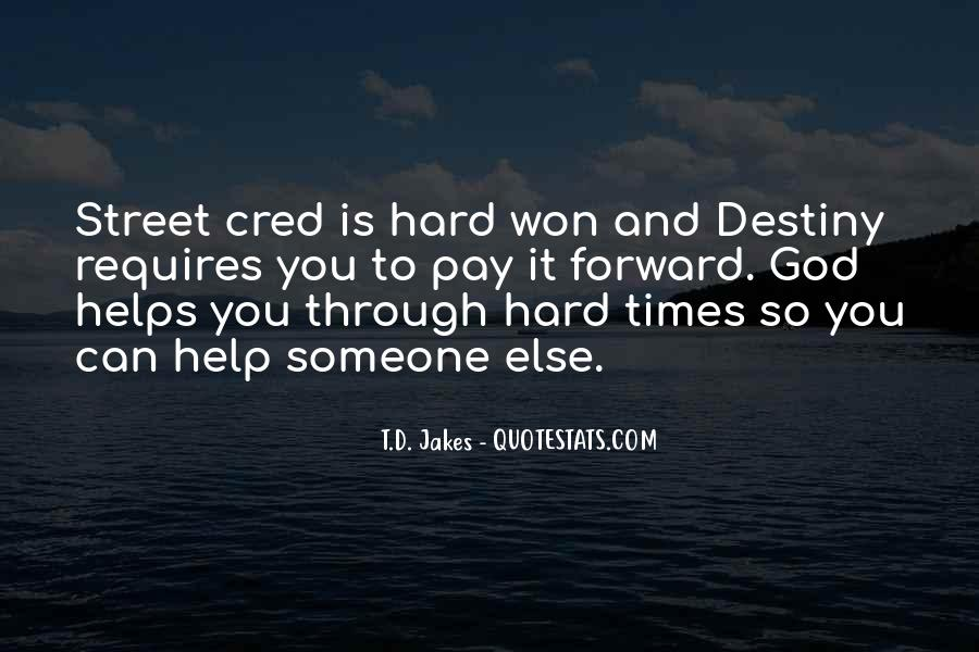 Street Cred Quotes #1128929