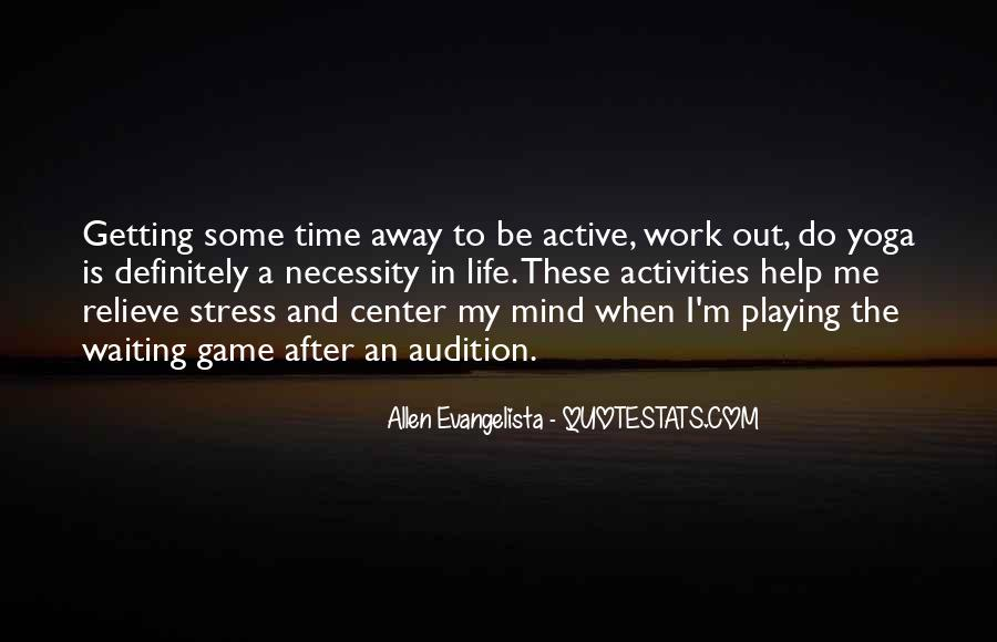 Stress Over Work Quotes #1510374