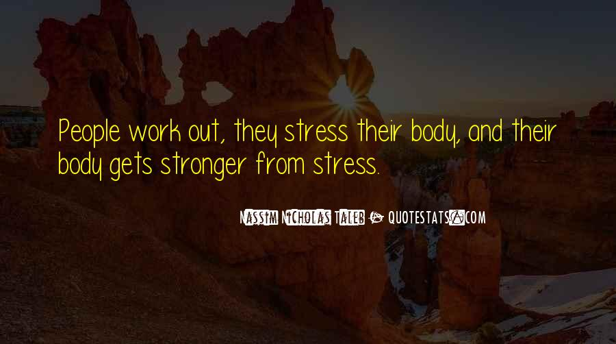 Stress Over Work Quotes #639633