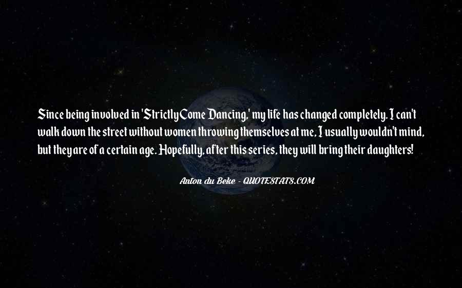 Strictly Come Dancing Quotes #1841836