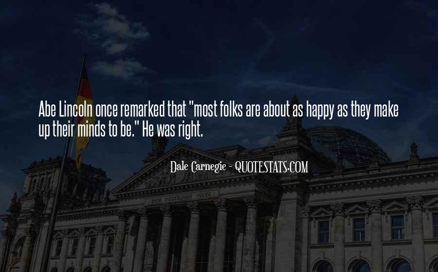 Quotes About Abe #153434
