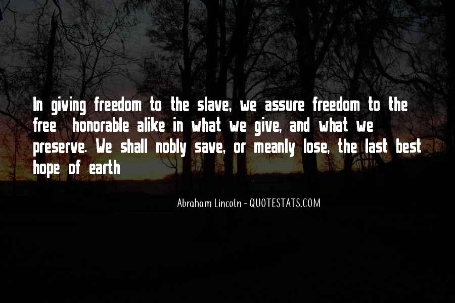 Quotes About Abe #158920
