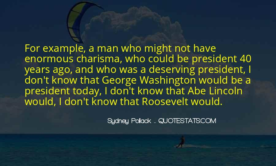 Quotes About Abe #34271