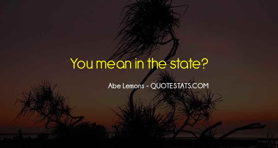 Quotes About Abe #83037