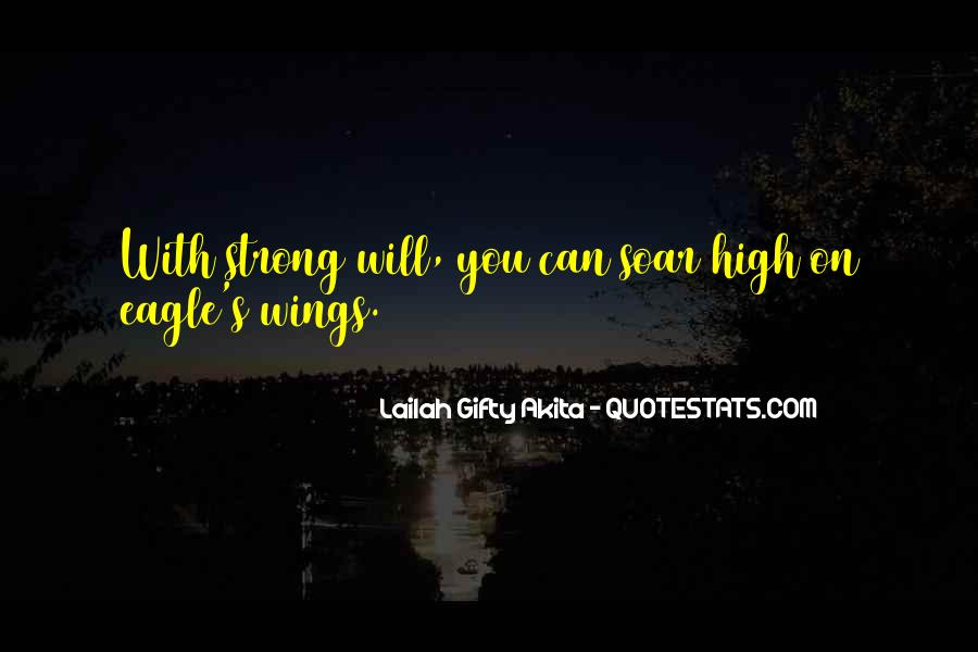 Strong Eagle Quotes #1399456