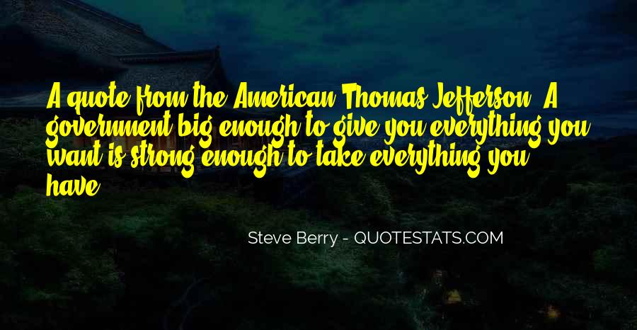 Strong Enough To Give Up Quotes #259214