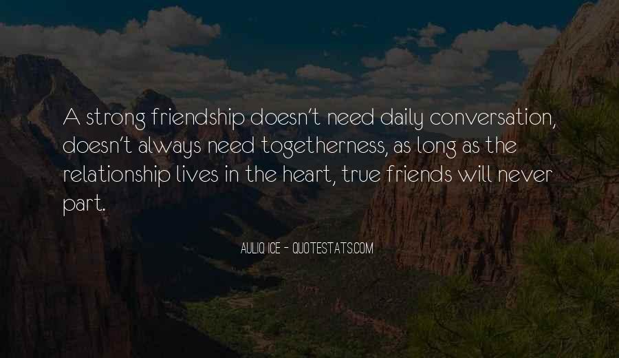 Strong Heart Touching Love Quotes #233037