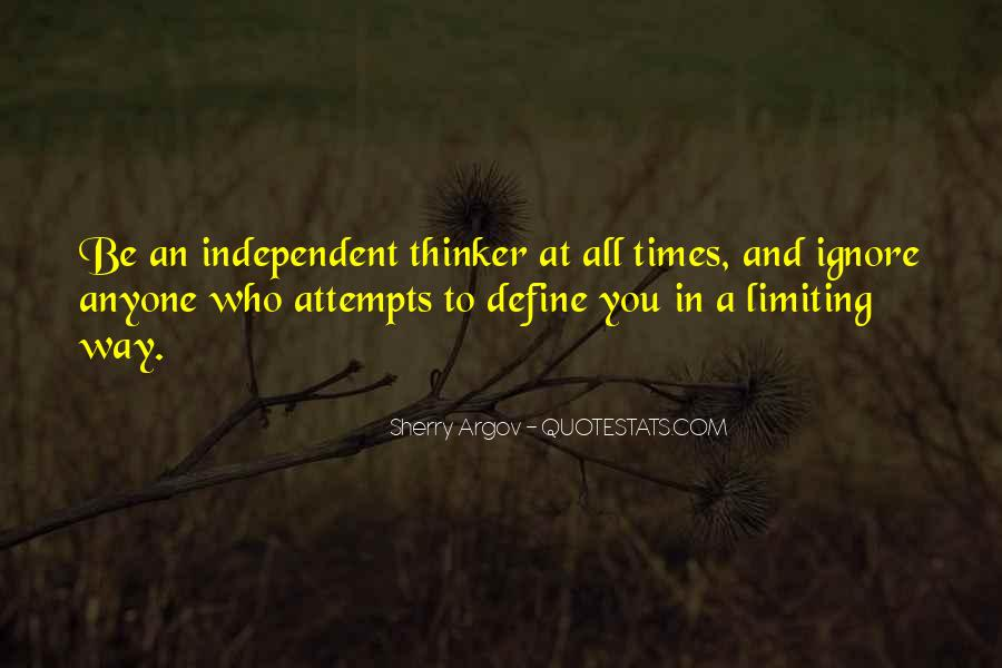Strong Independent Quotes #1606806