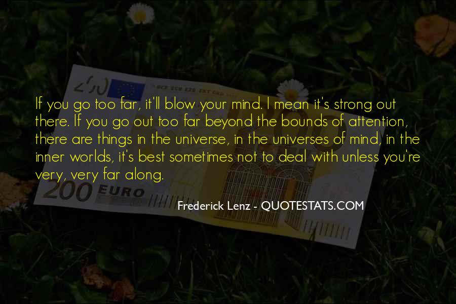 Strong Mind Quotes #19023