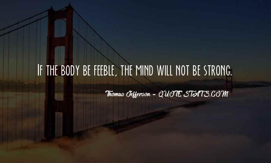 Strong Mind Quotes #207314