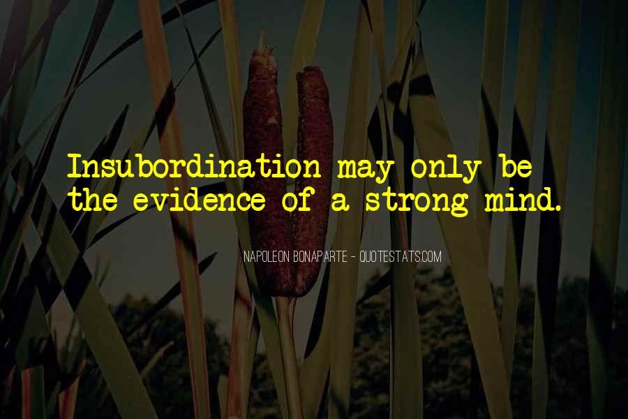 Strong Mind Quotes #300577