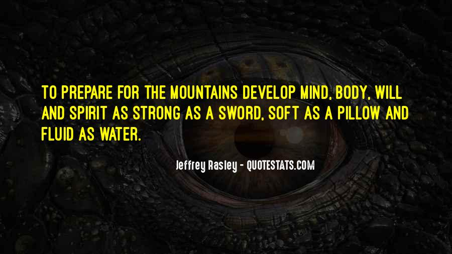 Strong Mind Quotes #484981