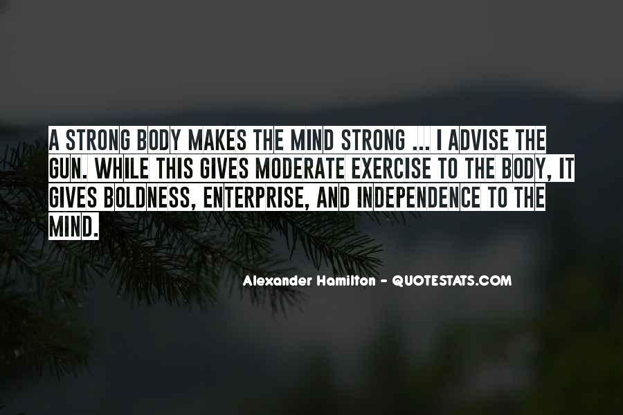 Strong Mind Quotes #505112