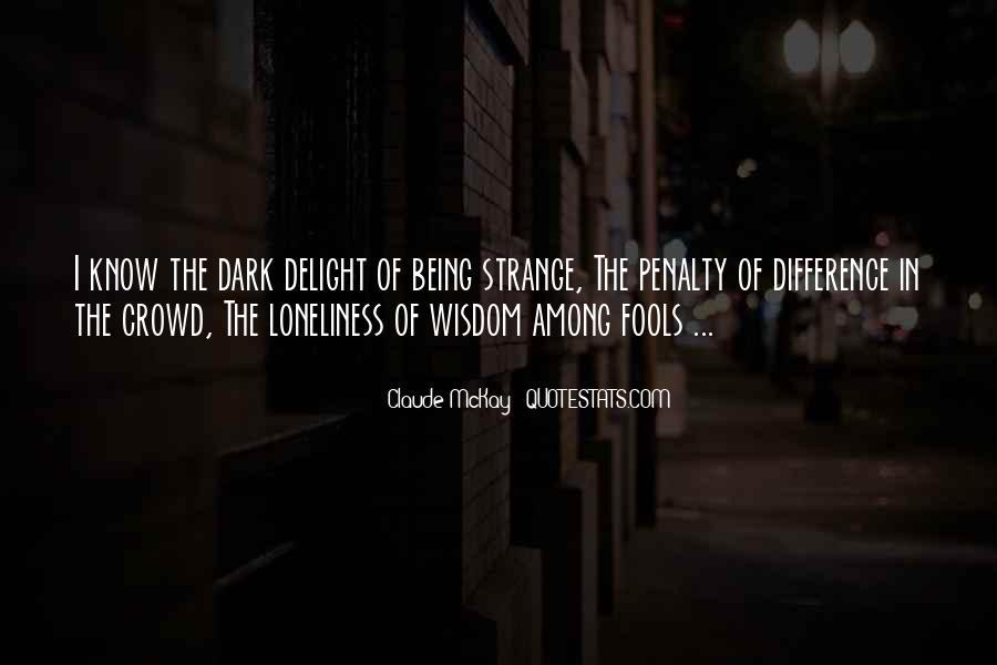 Strong Sixth Sense Quotes #1198488