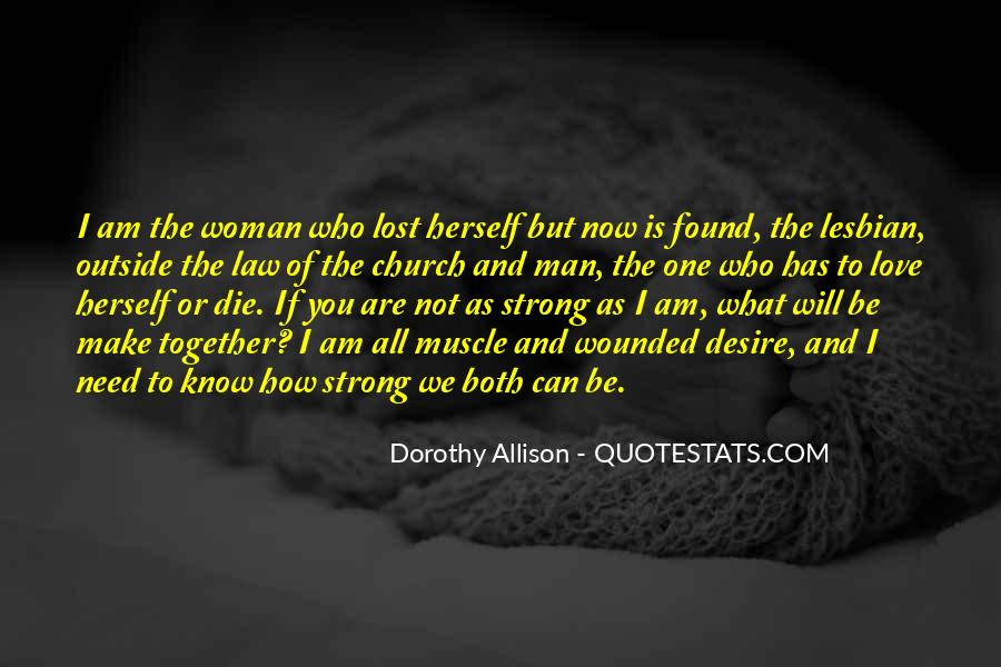 Strong Woman And Man Quotes #1124705