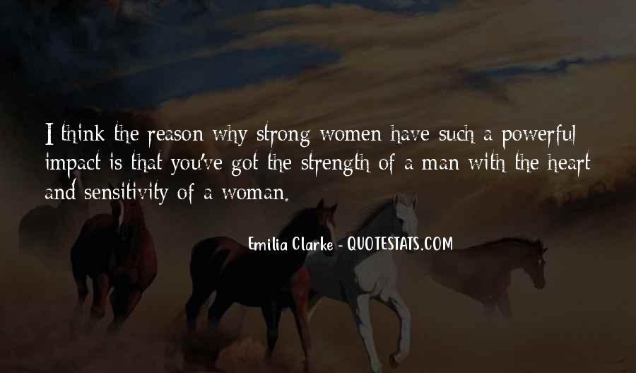 Strong Woman And Man Quotes #1473496