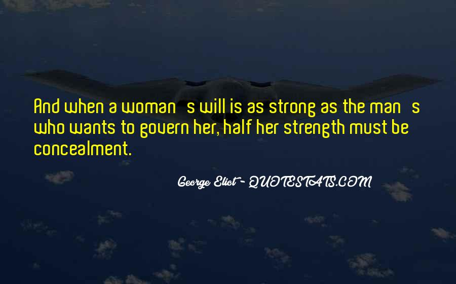 Strong Woman And Man Quotes #1714455