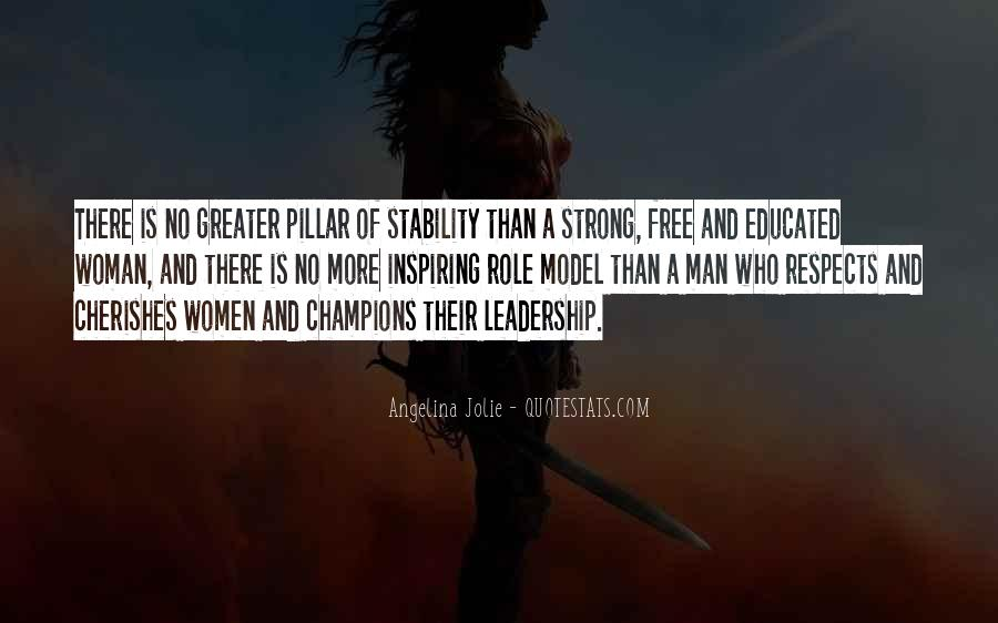 Strong Woman And Man Quotes #1829994