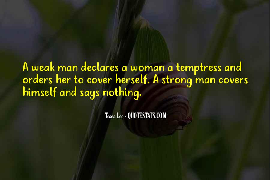 Strong Woman And Man Quotes #1852707