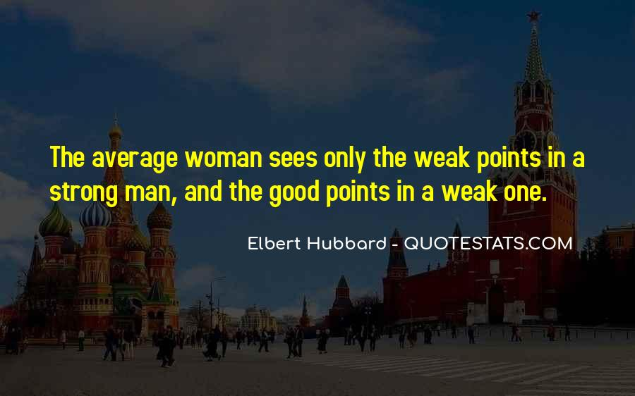 Strong Woman And Man Quotes #286761