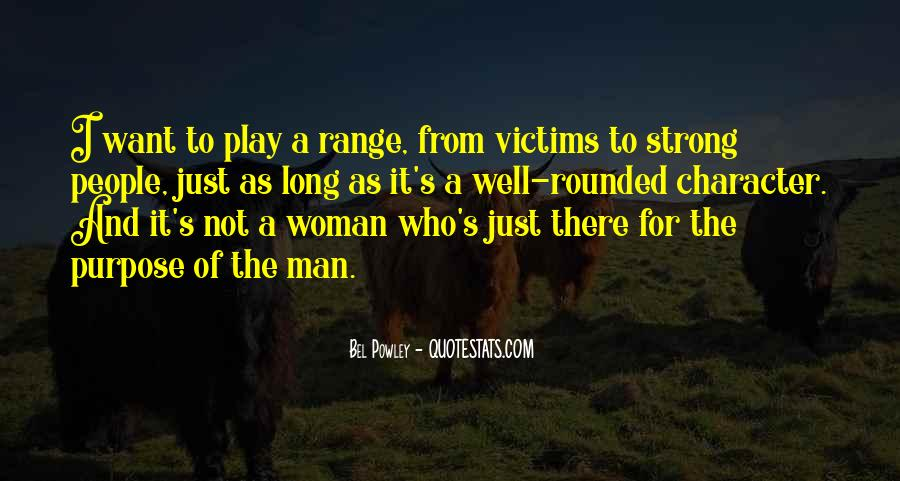 Strong Woman And Man Quotes #289213