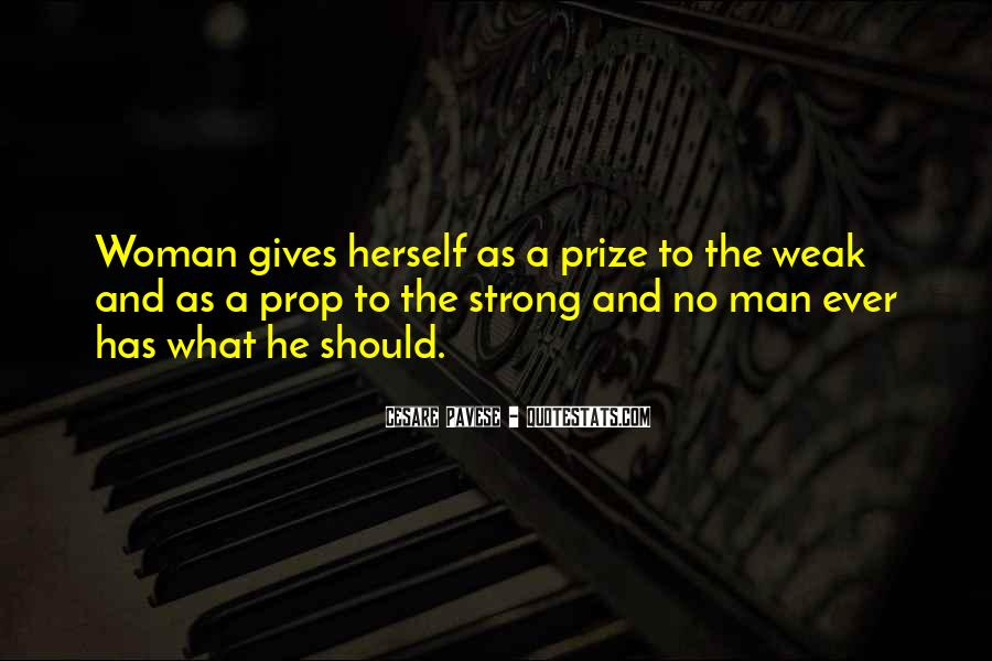 Strong Woman And Man Quotes #390915