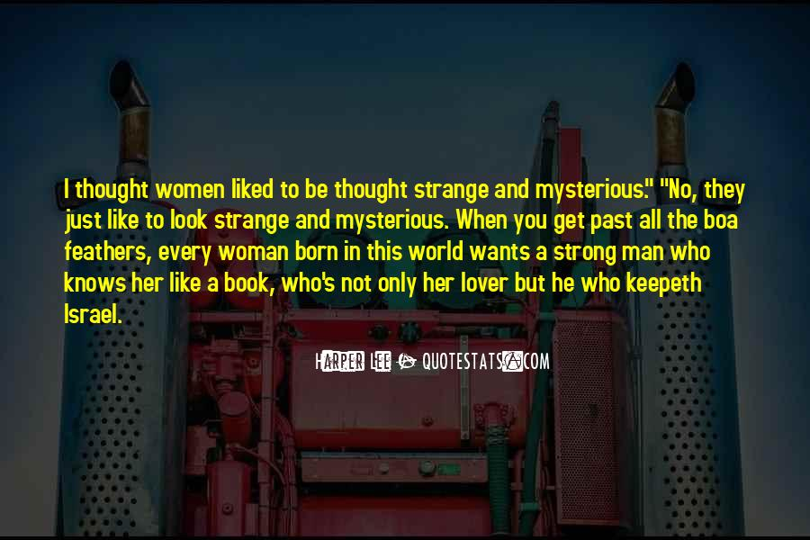 Strong Woman And Man Quotes #468443